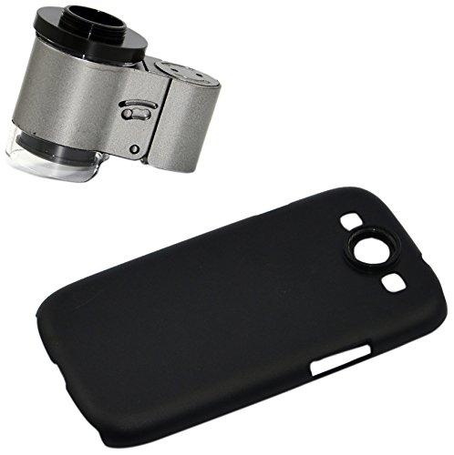 Apexel Mikroskop-Aufsatz für Handys, 50cm Brennweite, Aluminium Für Samsung Galaxy S3 I9300 65X