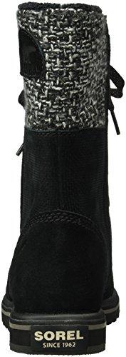 Sorel Rylee Lace, Stivali Mocassini Donna Nero (Black 010Black 010)