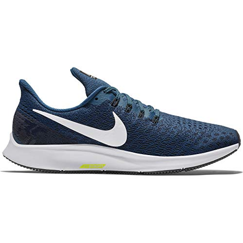 Nike Herren Air Zoom Pegasus 35 Laufschuhe, Mehrfarbig (Blue Force/White/Black/Wolf Grey 403), 42 EU