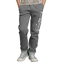 Pantalones De Deporte Niños Casual Impreso Pantalón Largo ...