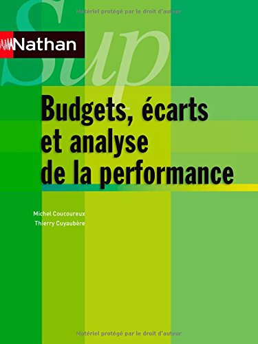 Bugets, écarts et analyse de la perform...