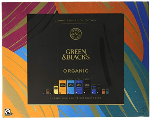Green & Black's Organic Tasting Collection Boxed Chocolate, 540g