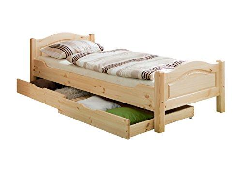 Einzelbett In 3 verschiedenen Ausführungen erhältlich