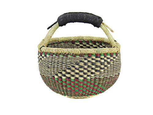 ufskorb Ø ca. 20cm   Handarbeit   Bolga   Fair Trade (Variante 16) ()