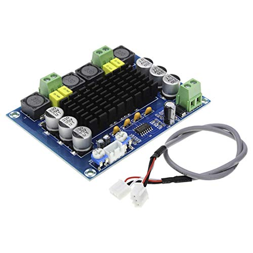 TEN-G TPA3116D2 Amplifier Board XH-M543 with Dual-Channel Stereo High Power Digital Audio 2x120W XR649 (Dual-voltage-home-theater-system)