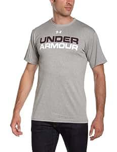 Under Armour Herren T-Shirt INTL Wordmark Tee, grau (25), S (SM)