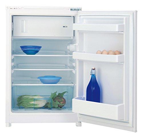 Beko B 1752 Einbau-Kühlschrank / A++ / Kühlen: 92 L / Gefrieren: 15 L / Weiss / Antibakterielle Türdichtungen / Schlepptürtechnik / Eiswürfelschale