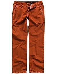 JP 1880 Herren große Größen bis 66 | Chino Hose | Pima Baumwolle | 4-Pocket Form | elastischer Bund, Knöpfe & Nieten | Regular Fit | 706469