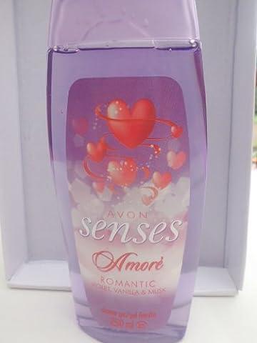 Avon Senses Amore Romantic Violet, Vanilla & Musk Duschgel 250 ml