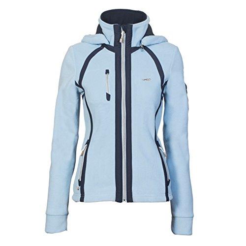 Fleece Jacke Damen Stacey ice blue L