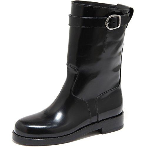 4855H Stivali Donna DOLCE&GABBANA D&G Biker tubo Scarpe Boots Shoes Women [37] -