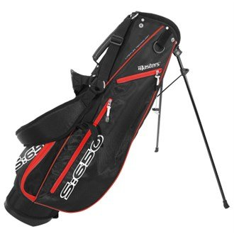 Masters Golf S-650 6.5 Inch Stand Bag 2015 Black/Red Black/Red