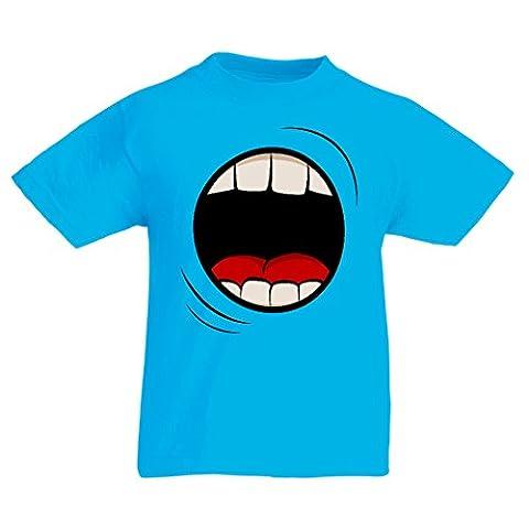 Maman Papa Fille Halloween - T-shirt pour enfants Le cri (3-4 years