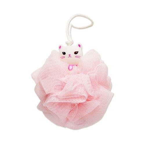 Etude House - My Beauty Tool Lovely Etti Shower Ball - Süßer Duschschwamm im Katzendesign - Badeschwamm Peeling für den Körper / Rücken / Arme / Beine / Gesicht - (Kostüme Für Süße Selbstgemachte Kinder)
