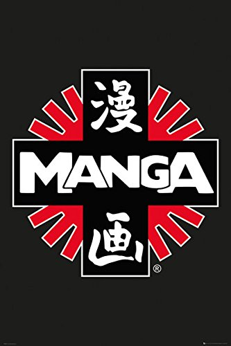 MANGA - Logo - 61x91,5cm AFFICHE / POSTER