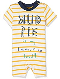 Mothercare Baby Boys' Regular Fit Romper Suit