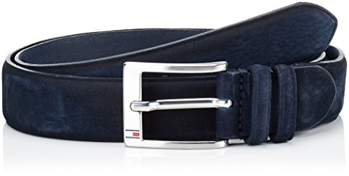 Tommy Hilfiger Houston Adjustable Belt, Cintura Uomo, Blu (Navy Blazer Pt 416), 90 (Taglia Produttore:90)