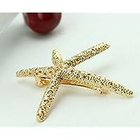 PRIMI 1pc Hair Clip für Frauen Mädchen Baby Strand Haarspange Seestern Hochzeit Abschlussball Haarspange