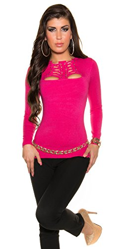 KouCla - Pull - Femme rose Rosa taille unique 5 Pink