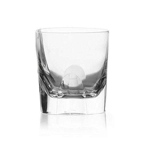 Cristal de Sèvres focale Set de Verres à Whisky, Verre, 10 x 10 x 10 cm, Lot de 2