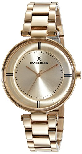 Daniel Klein Analog Rose Gold Dial Women's Watch - DK11467-3