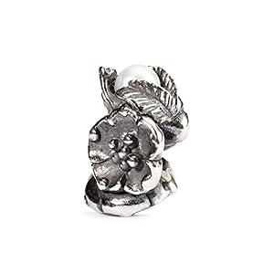 Trollbeads Damen-Bead Buckthorn of May 925 Silber – TAGBE-00031
