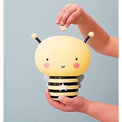A Little Lovely Company MBBEYL08 - Mini hucha en forma de abeja