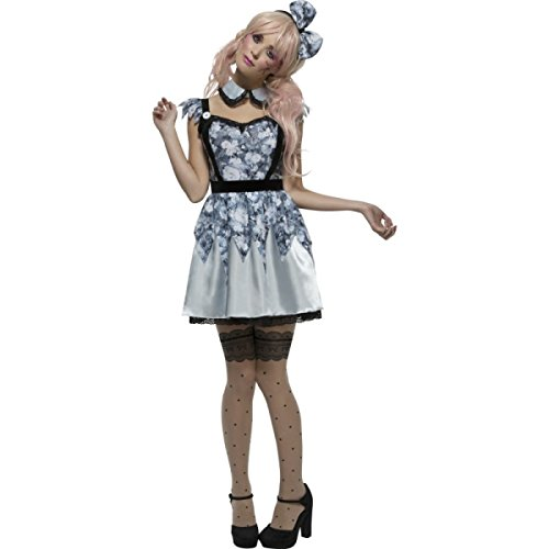 Fever Broken Doll Annie Kostüm Damen - Schwarz - Medium