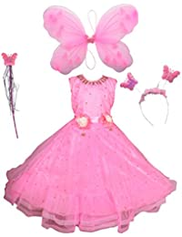 AHHAAAA Blended Baby Girls Angel Pari Dress/Christmas Gown