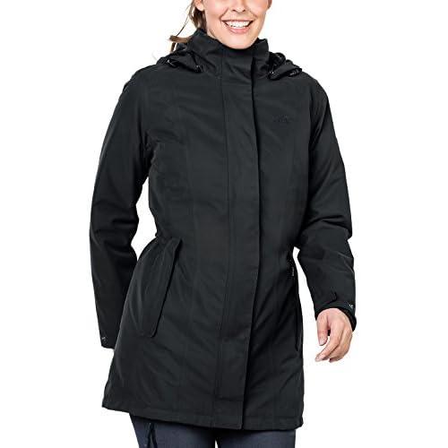 41dAvpBFEIL. SS500  - Jack Wolfskin Madison Avenue Women's Coat