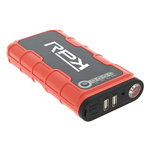 Avviatore di emergenza portatile e power bank 12000mah / 400a con torcia led