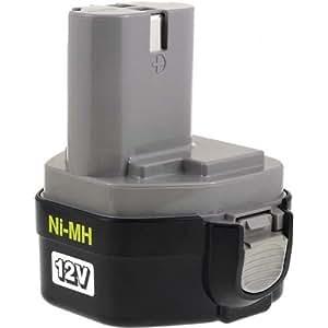 Batterie pour Makita aspirateur 4013DZ original, 12V, NiMH
