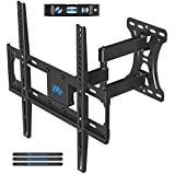Mounting Dream Functional TV Wall Mount Bracket Articulating Arm With Swivel And Tilt For Most 26 To 55 Inch Flat Screen, OLED, LED TVs, Supports Up To 27KG Loading Capacity, Maximum VESA 400x400mm