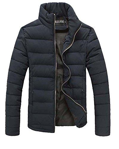 Uomo Inverno Cappotti Maniche Lunghe Tuta Sportiva Casuale Marina Militare XL