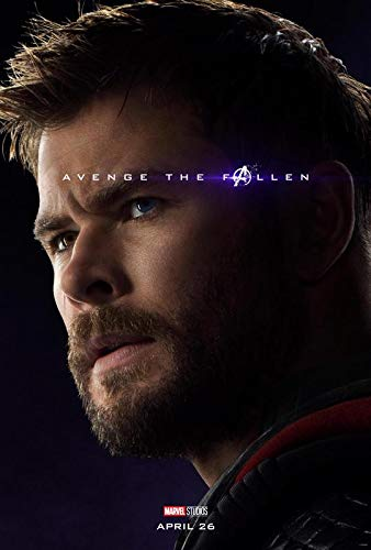 The Avengers Endgame – Thor – U.S Movie Wall Poster Print - 30cm x 43cm / 12 Inches x 17 Inches