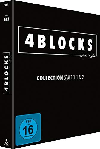 4 Blocks - Collection Staffel 1+2 - Blu-ray - (Original Uncut Edition)
