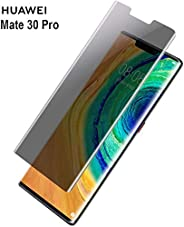 Al-HuTrusHi Huawei Mate 30 Pro Privacy Screen Protector Glass, 9H Hardness Tempered Glass HD Privacy Screen Pr