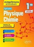 Spécialité Physique-chimie - Première - nouveaux programmes