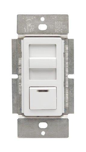 Fan-speed-control-single (Leviton IPF05-1LZ IllumaTech 5A Full Range Preset Fan Speed Control, Single Pole and 3-Way, White/Ivory/Light Almond by Leviton)