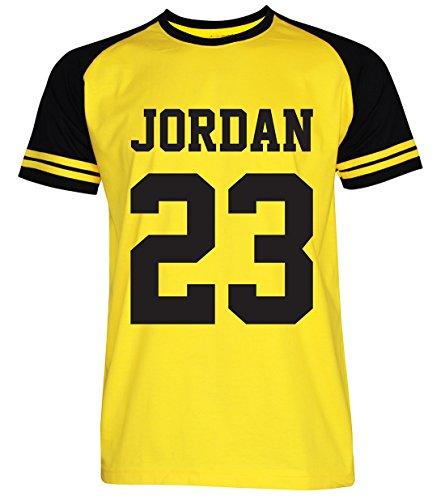 PALLAS Men's Jordan Sport T-Shirt YellowBlack