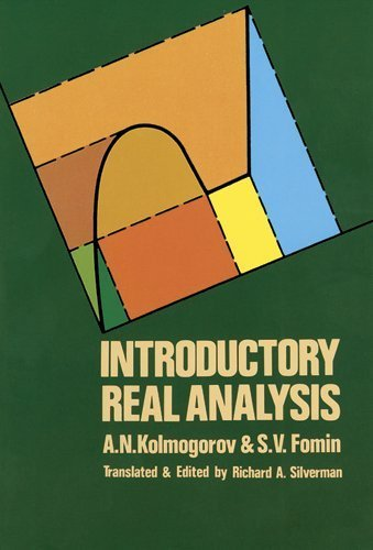 Introductory Real Analysis (Dover Books on Mathematics) by Kolmogorov, A. N. (2000) Paperback