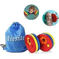 Kids Arm Float Discs, Aitsite Swim Arm Brand Set Swimming Armbands for pool (6 pcs/Set)