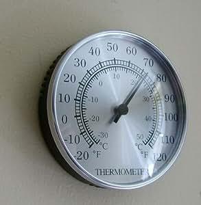 Sunartis T100 Thermomètre d'intérieur ou d'extérieur