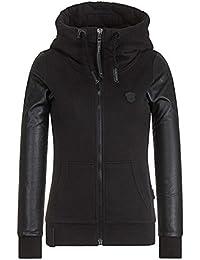 Naketano Female Zipped Jacket Black Meine Geschäfte Flex III