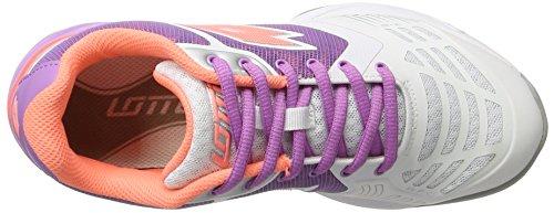 Lotto Sport Esosphere Ii Alr W, Chaussures de Tennis Femme Blanc (Wht/ros Neo)
