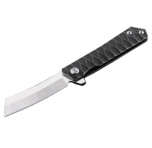 Militares Cuchillo Supervivencia Acero Inoxidable Cuchillo Plegable Av