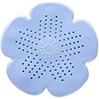 Diseño único de Silicona Flor de Sakura Forma Baño Ducha Cocina Drenaje del fregadero Filtro Filtro de pelo Filtro