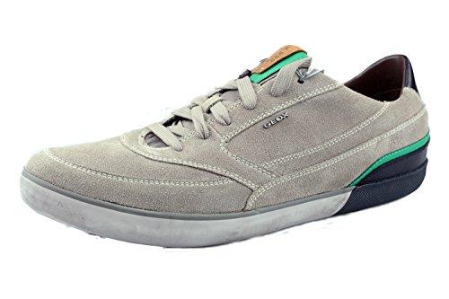 Uomo scarpa sportiva, color beige , marca geox, modelo uomo scarpa sportiva geox u box a beige
