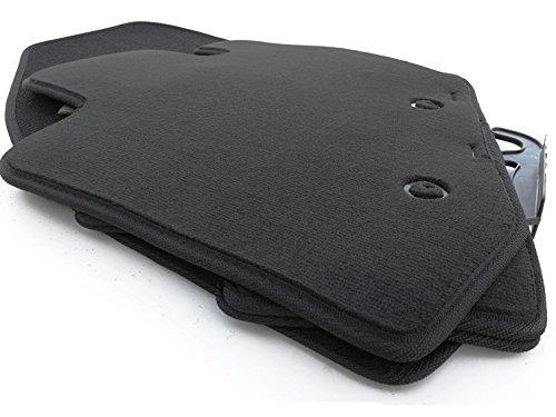 Fußmatten Volvo S60 (2000-2010) Original Qualität Velours (800g/m²) Autoteppich 4-teilig schwarz