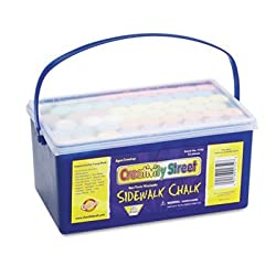 Sidewalk Chalk, 4 X1 Dia. Jumbo Stick, 12 Assorted Colors, 52 Pieces/Each Case, Sold As 52 Each